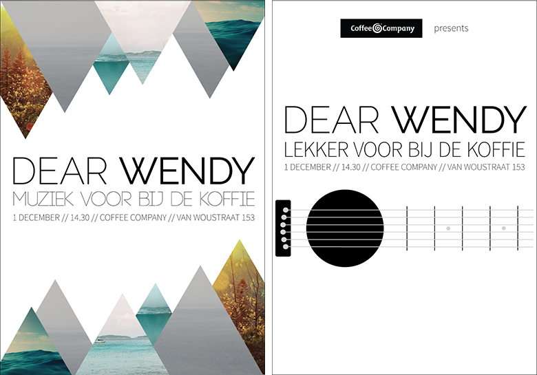 Design Dear Wendy Posters