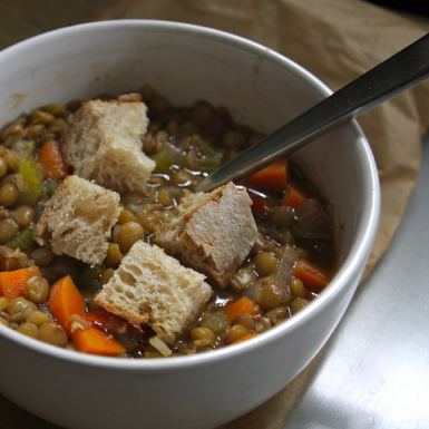 Go-to recipes: Shutterbean lentil soup