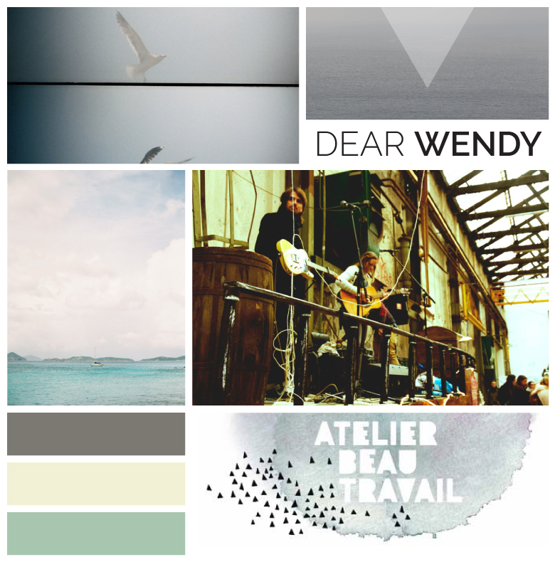 Design Dear Wendy Moodboard